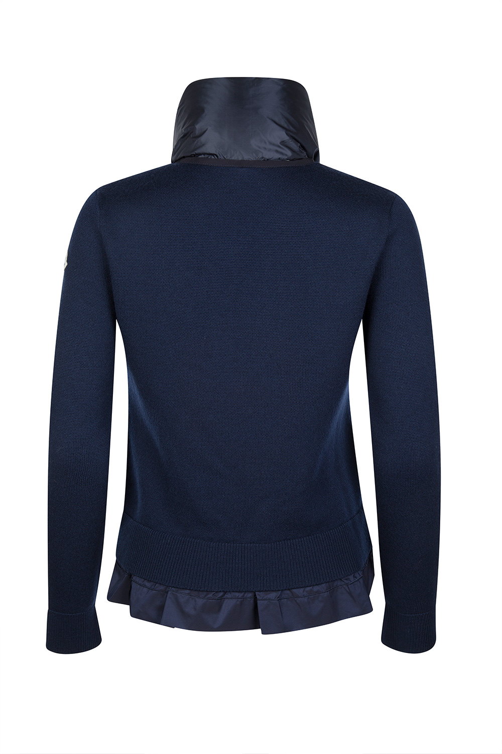 69071beca Moncler Women's Scarf Cardigan Navy Blue | Linea Fashion Linea Fashion