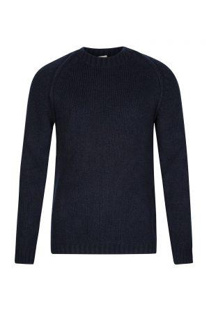Ten C Men's Wool-blend Raglan Jumper Blue