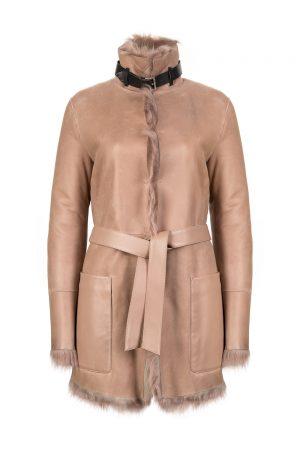 Belstaff Borrowdale Women's Reversible Coat Dusty Pink
