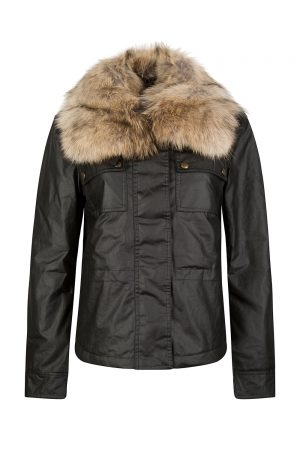Belstaff Guildford Women's Wax Cotton Jacket Black