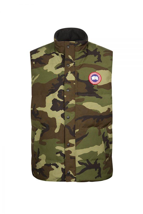 Canada Goose Men's Garson Vest Camouflage