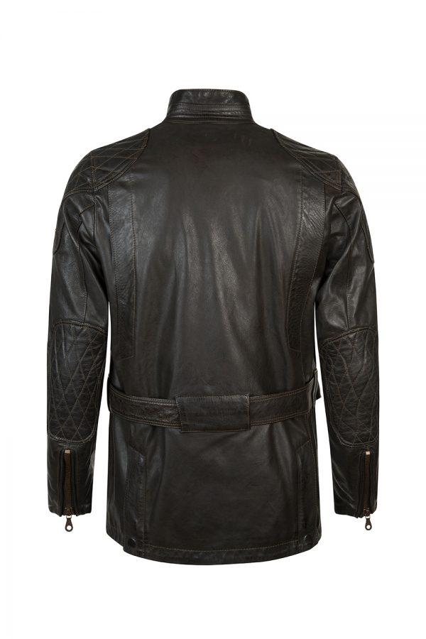 Matchless Streetfarer Evolution Men's Leather Jacket Black