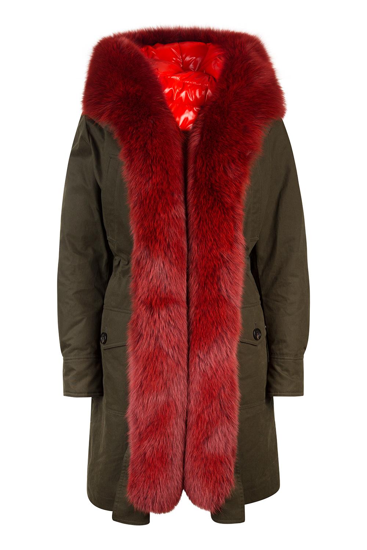 5978186b9 Moncler Hypolais Women's Down Parka Green   Linea Fashion Linea Fashion