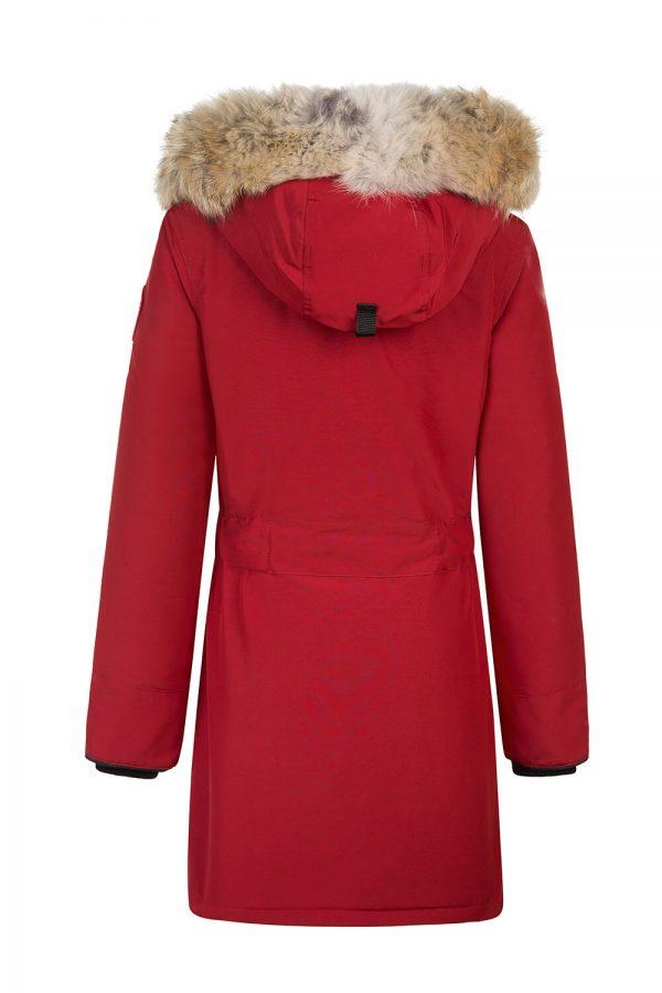 Canada Goose Trillium Women's Long Parka Red