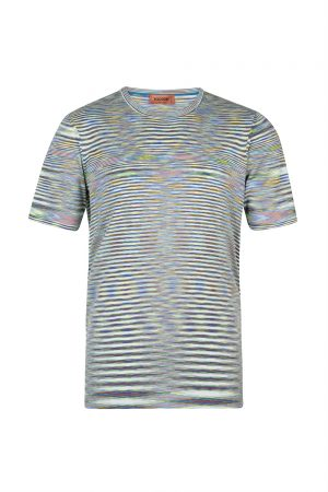 Missoni Men's Space-dye Knitted Top Multicoloured