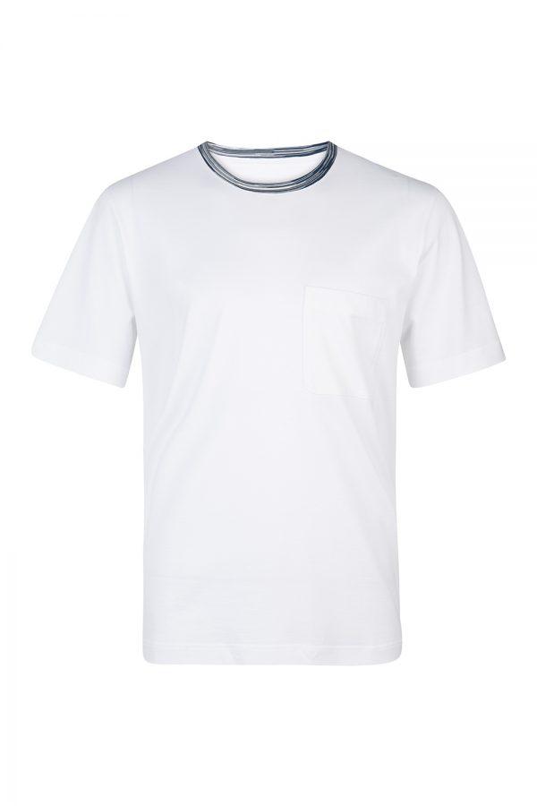 Missoni Men's Cotton Short-sleeved T-Shirt White