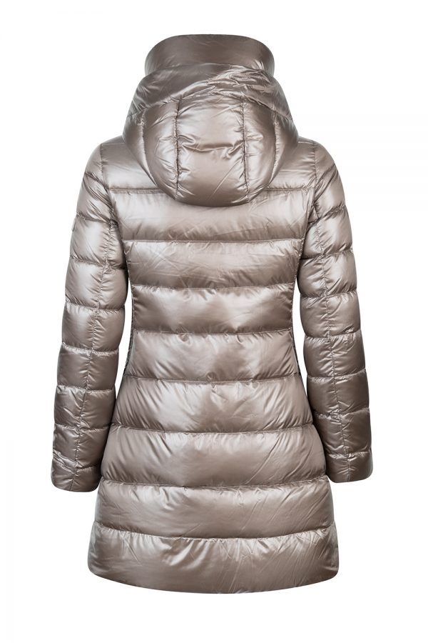 Tatras Babila Women's Satin Nylon Coat Grey