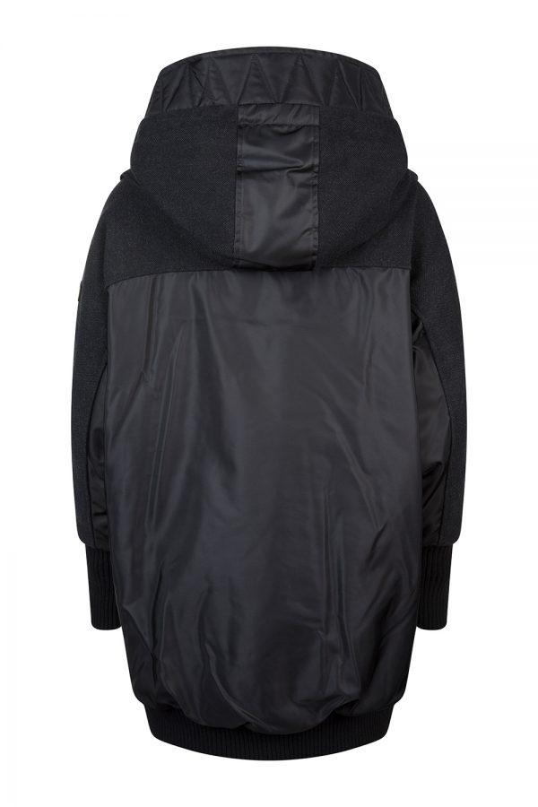 Tatras Marilleva Women's Tweed Panel Coat black
