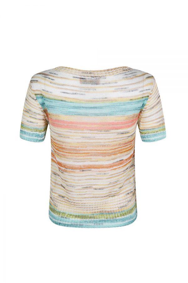 Missoni Women's Knitted Stripe Top Multicoloured