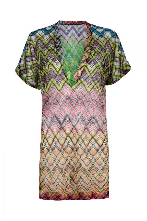 Missoni Women's Lurex Tunic Top Multicoloured