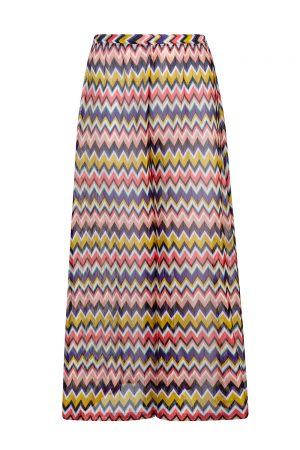 Missoni Women's Zig Zag Palazzo Pants Multicoloured