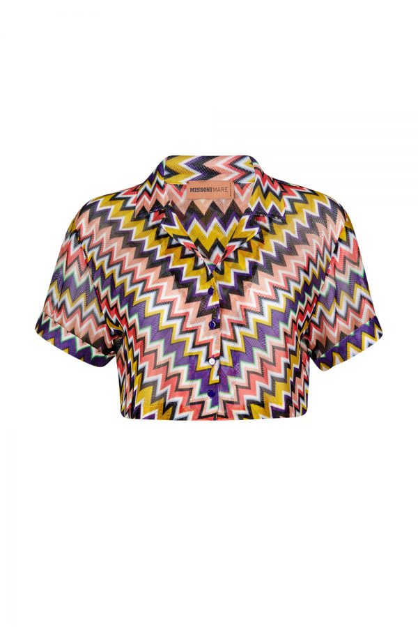 Missoni Women's Zig Zag Top Multicoloured