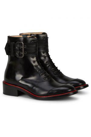 Belstaff Women's Acklington High Shine Boots Black FRONT