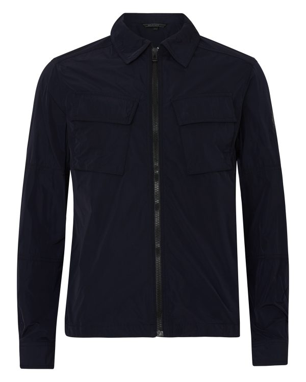 Belstaff Men's Talbrook Shirt Jacket Blue FRONT