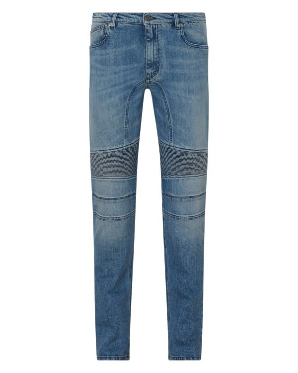 Belstaff Men's Eastham Slim-fit Jeans Blue FRONT