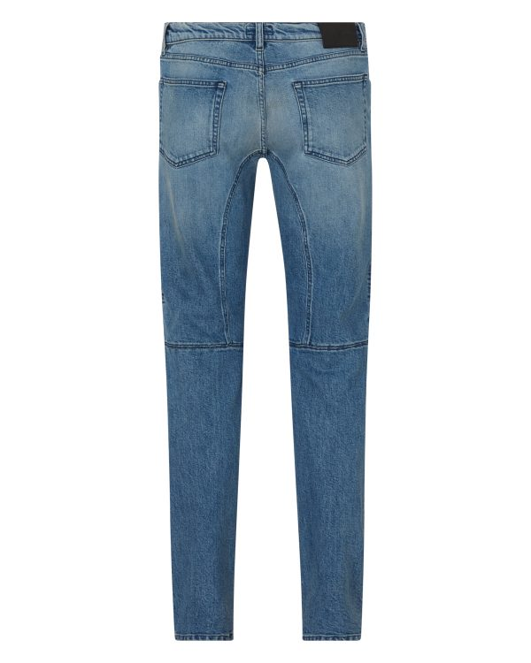 Belstaff Men's Eastham Slim-fit Jeans Blue BACK