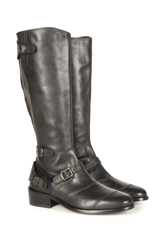 c7f4e125dee Belstaff Trialmaster Women's Knee-High Boots Black   Linea Fashion