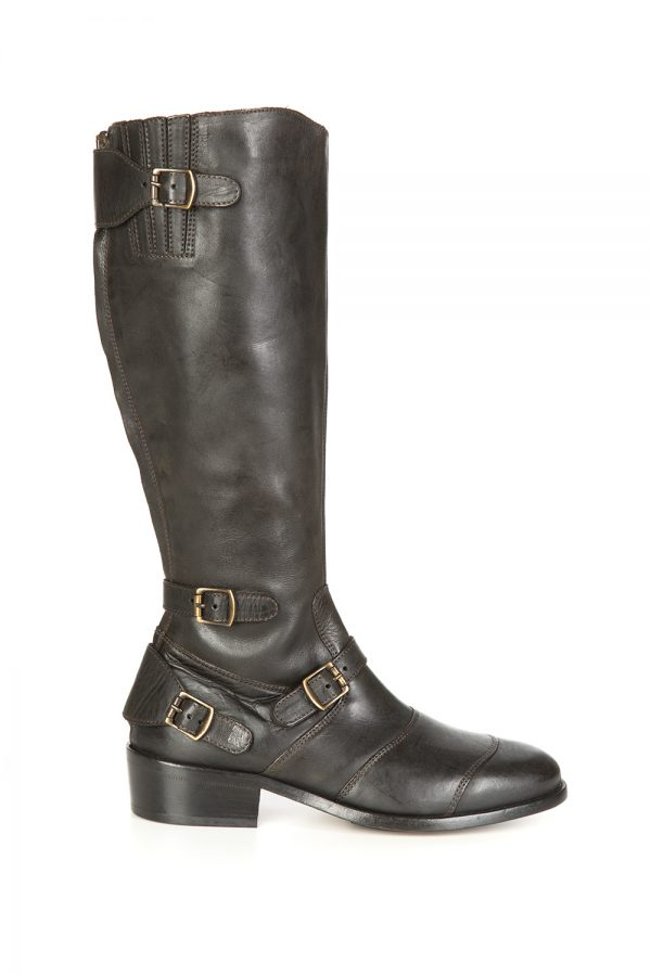 Belstaff Trialmaster Women's Knee-High Boots Black