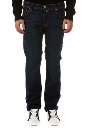 Jacob Cohen J622 Men's Comfort Straight-leg Jeans Dark Blue