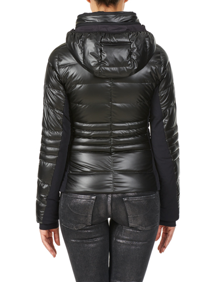 Herno Laminar Quilted Down-filled Sports Jacket Charcoal Grey