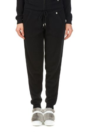 Woolrich Ladies Cashmere Tracksuit Bottoms Black