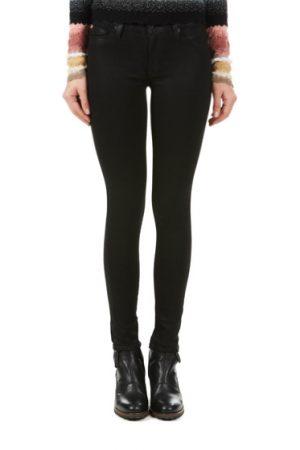Hudson Nico Metallic Super-skinny Mid-rise Ladies Jeans Black