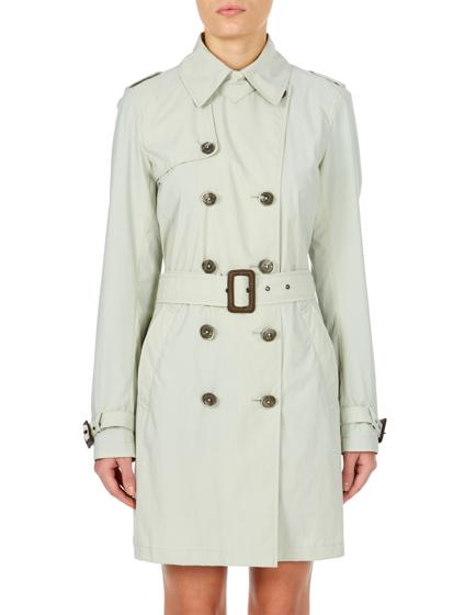 Herno Ladies Rain Collection Trench Coat Cream