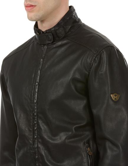 Matchless Johnny Men's Nappa Leather Biker Blouson Black