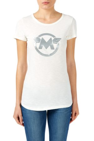 Matchless Ladies M Extra Vintage Jersey T-shirt White