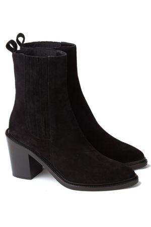 Belstaff Hannalee Ladies Suede Boots Black