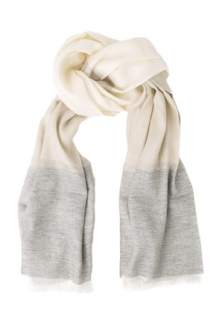 Fabiana Filippi Ladies Wool-blend Shawl Cream