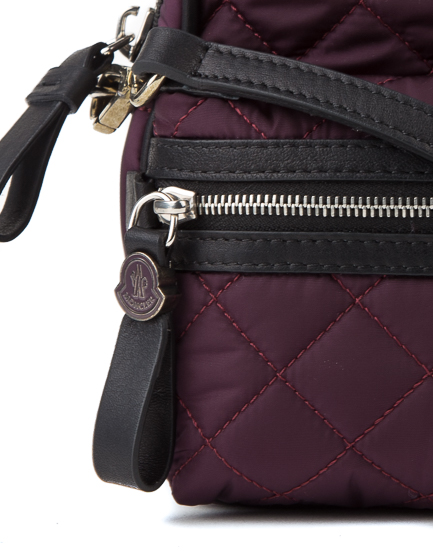 Moncler Georgine Ladies Backpack Handbag Burgundy