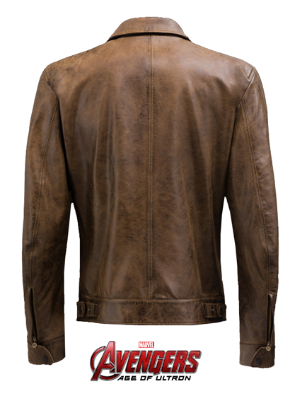 Matchless Captain America Men's Biker Blouson Brown