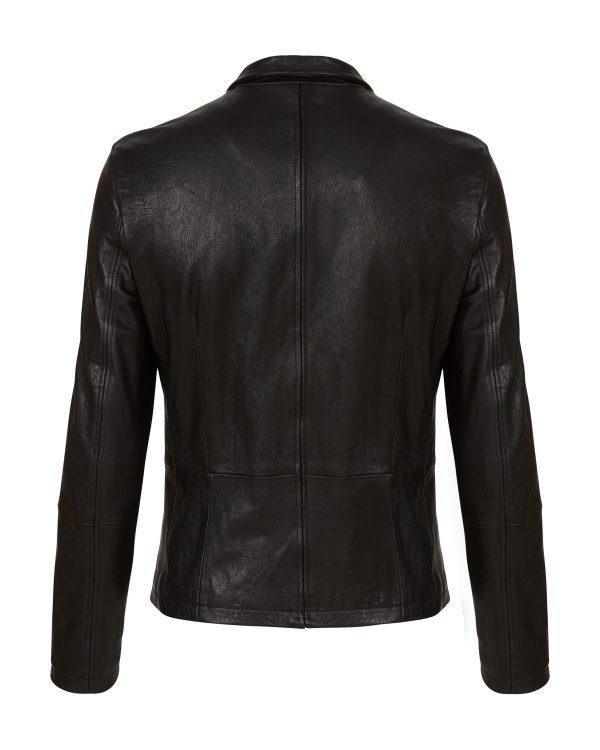 Matchless Craig Men's Leather Biker Blouson Black BACK