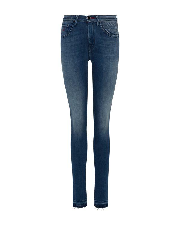 Jacob Cohën Women's Kimberly Slim Stretch Jeans Blue FRONT