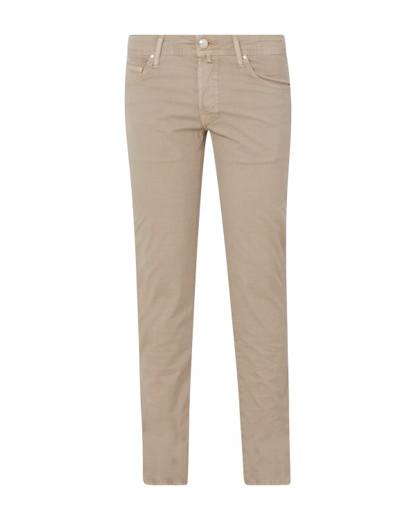 Jacob Cohën Men's Chino Trousers Beige FRONT