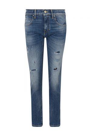 Jacob Cohën Women's Karen Distressed Jeans Blue FRONT