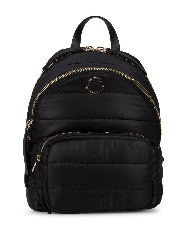 bab1e46b2 Moncler Ladies Kilia Medium Quilted Backpack Black | Linea Fashion