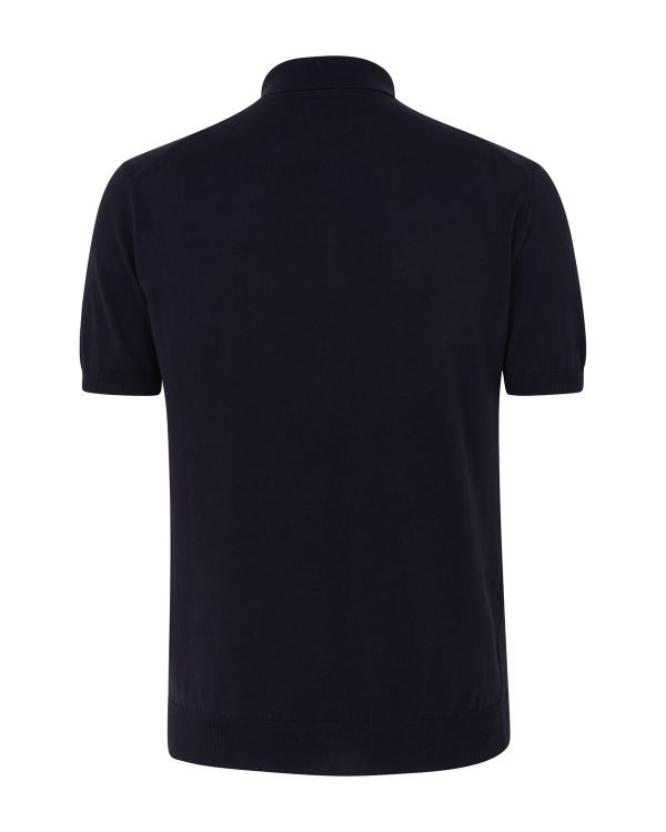 C.P. Company Cotton Polo-shirt Navy BACK