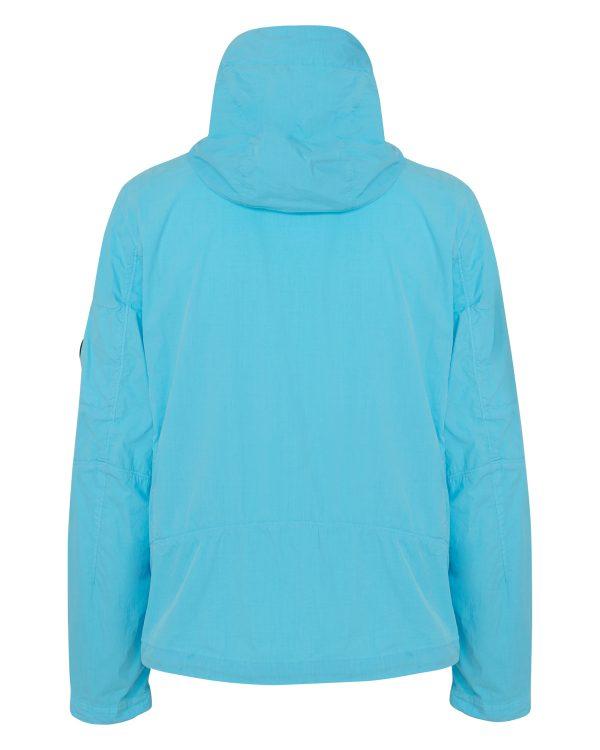 C.P. Company Men's Shell Jacket Blue BACK