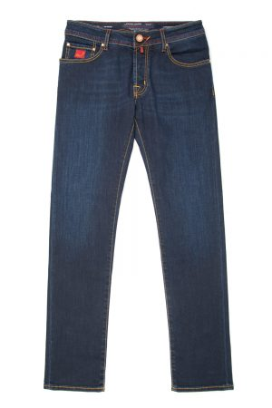 Jacob Cohën Men's J622 Comfort Fit Jeans Dark Red