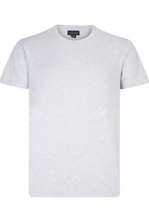 Velvet Men's Simple T-shirt Grey