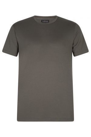 Velvet Men's Simple T-shirt Green