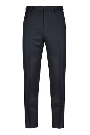 Pal Zileri Men's Tapered Suit Trousers Navy
