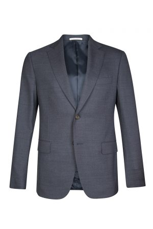 Pal Zileri Men's Tailor-fit Wool Blazer Navy