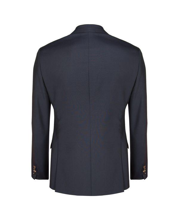 Pal Zileri Men's Hand Stitched Wool Suit Blue