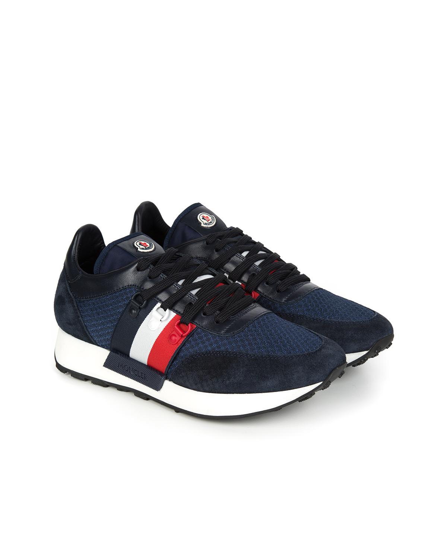 4fec9e88804 Moncler New Horace Men's Trainers Blue | Linea Fashion Linea Fashion