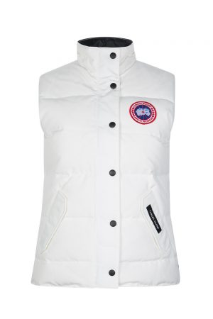 Canada Goose Women's Freestyle Crew Vest White