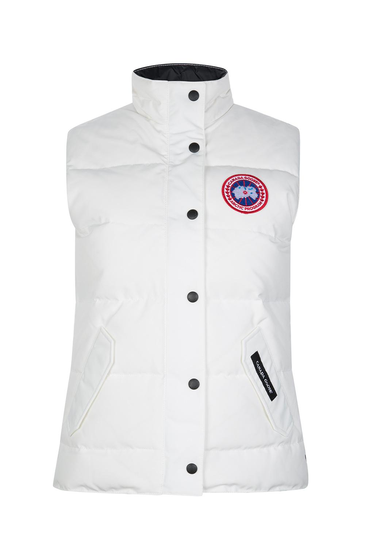bbf1c1ce86b3 Canada Goose Freestyle Women s Crew Vest White