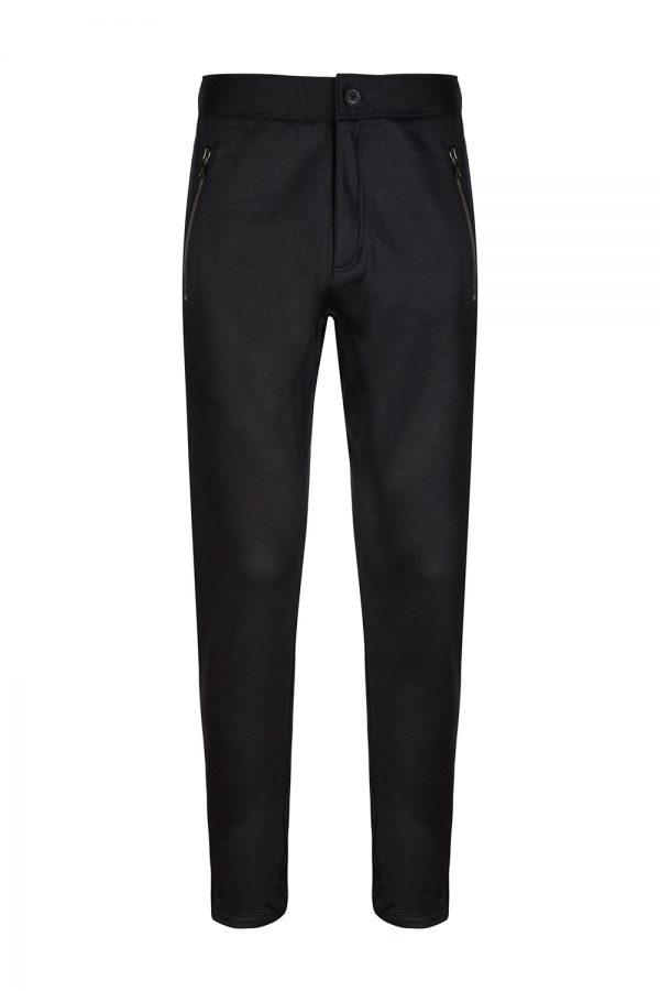 John Varvatos Men's Casual Pants Black